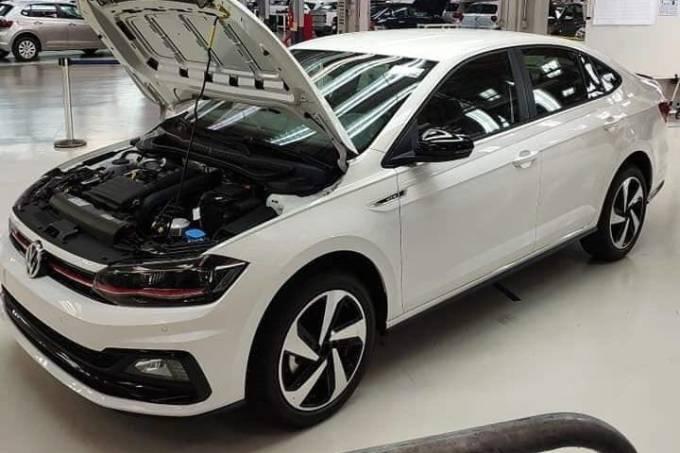 Volkswagen Virtus GTS exibido na fábrica de São Bernardo do Campo (SP)