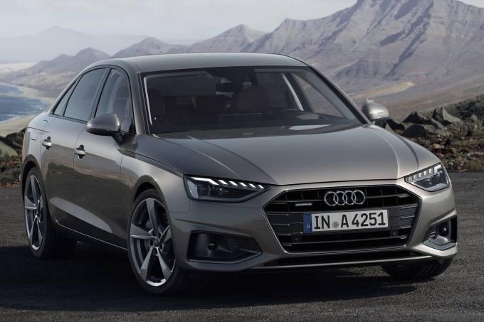 Audi A4 Dianteira Estática