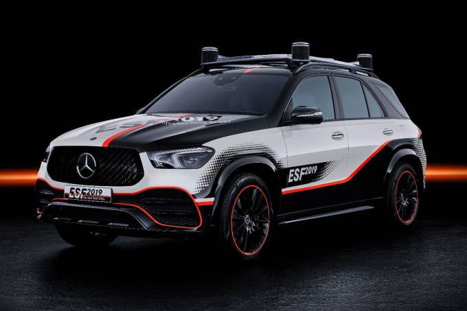Mercedes ESF 2019 Conceito