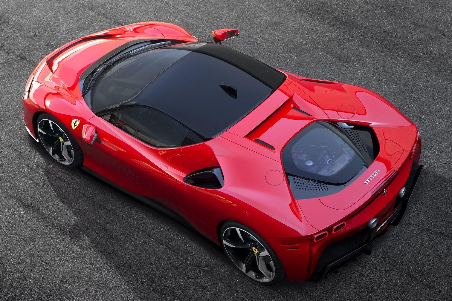 O motor V8 turbo é o mais potente já usado por uma Ferrari