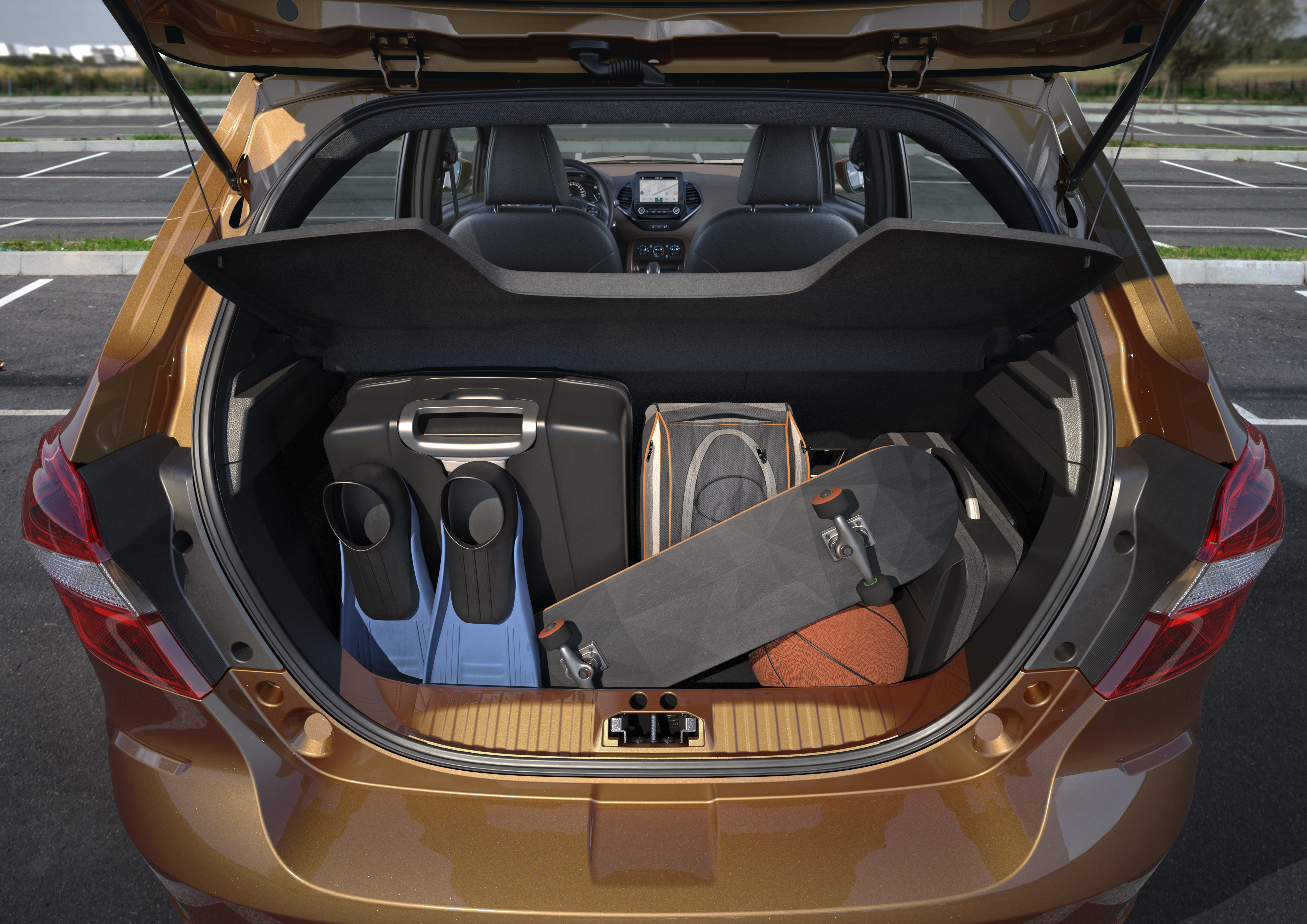 Ford Ka Freestyle Se Aventura Abaixo De R 60 000 Com Motor 1 0 Quatro Rodas