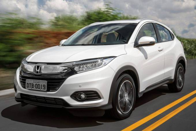 Honda HR-V Touring Dianteira Movimento 1