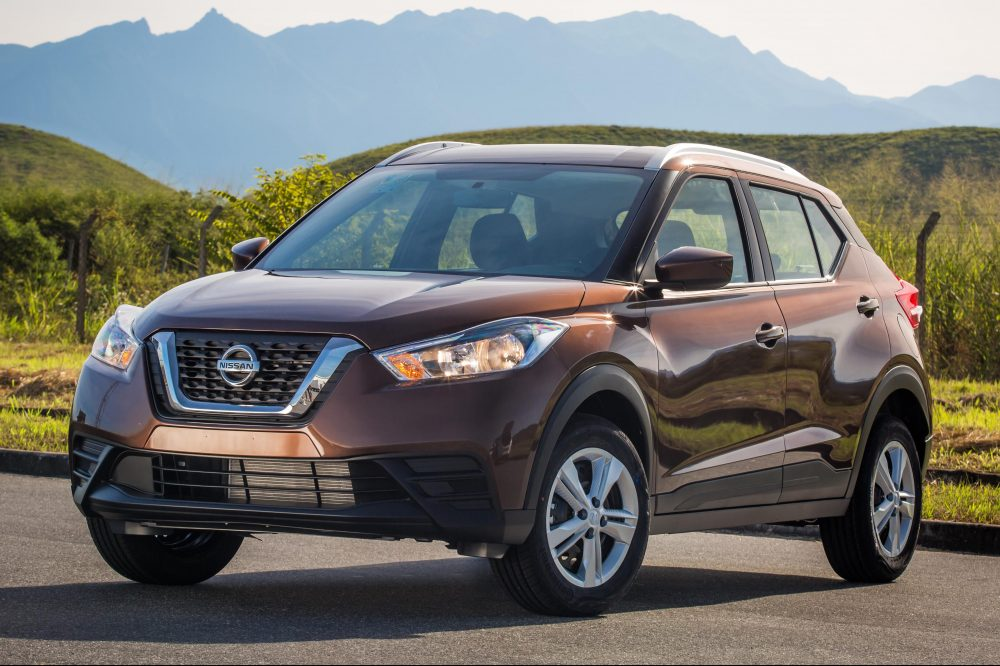 Dianteira do Nissan Kicks 2020