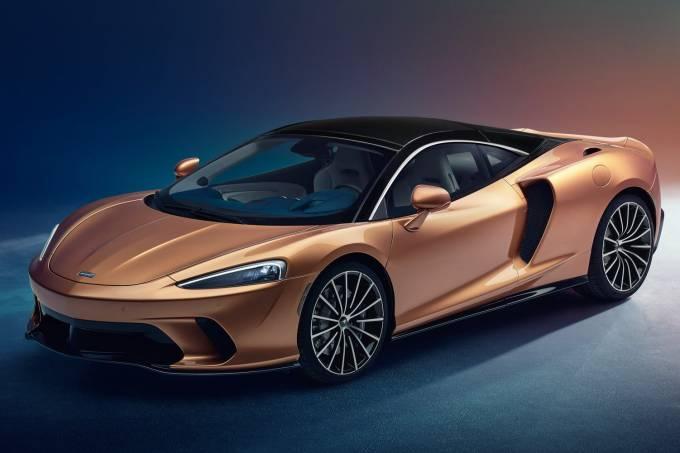 McLaren GT Dianteira Estática