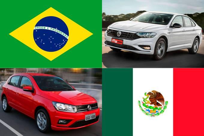 Brasil vs. México – mercado
