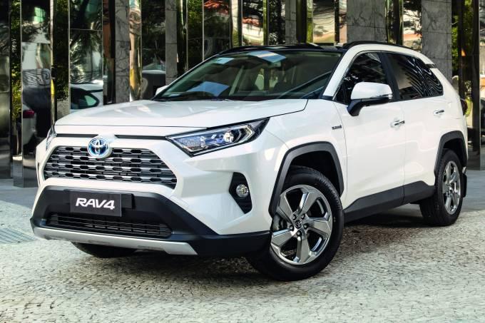Novo Toyota RAV4 híbrido