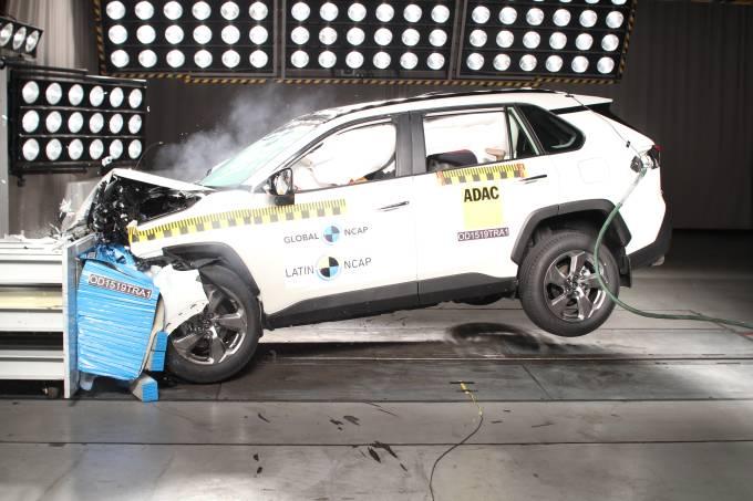 Novo Toyota RAV 4 no Latin NCAP