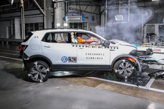 VW T-Cross crash-test