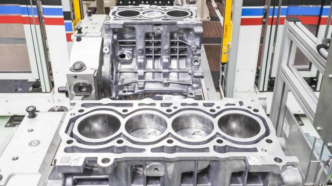 Blocos dos motores Fiat Firefly 1.0 de três e 1.3 de quatro cilindros