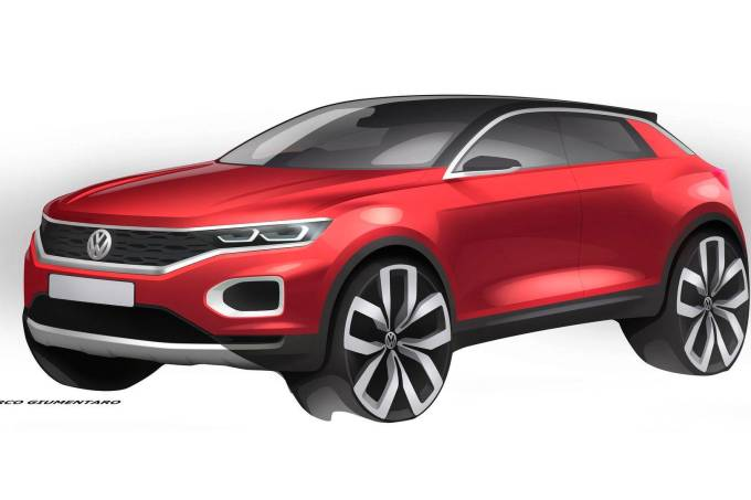 sketch do Volkswagen T-Roc
