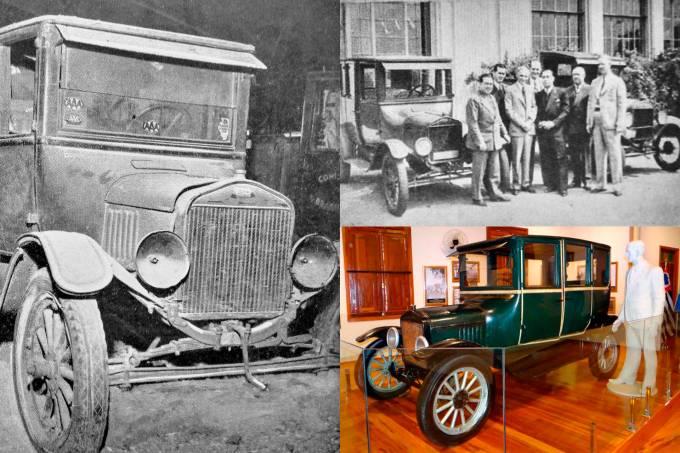 Ford T expedição