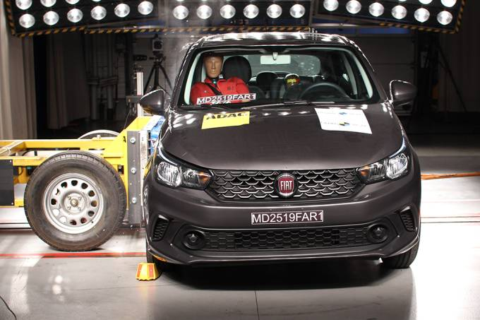 Fiat Cronos Latin NCAP