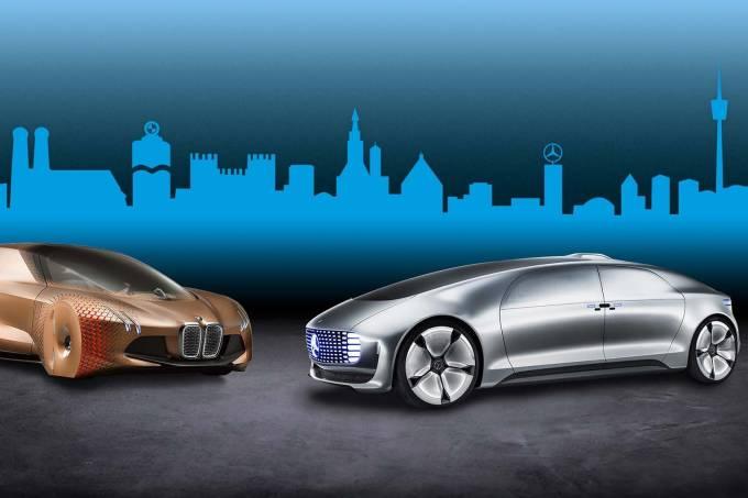 Vertragsunterzeichnung erfolgt: Daimler AG und BMW Group starten langfristige Entwicklungskooperation für automatisiertes FahrenContract signed: Daimler AG and BMW Group launch long-term development cooperation for automated driving