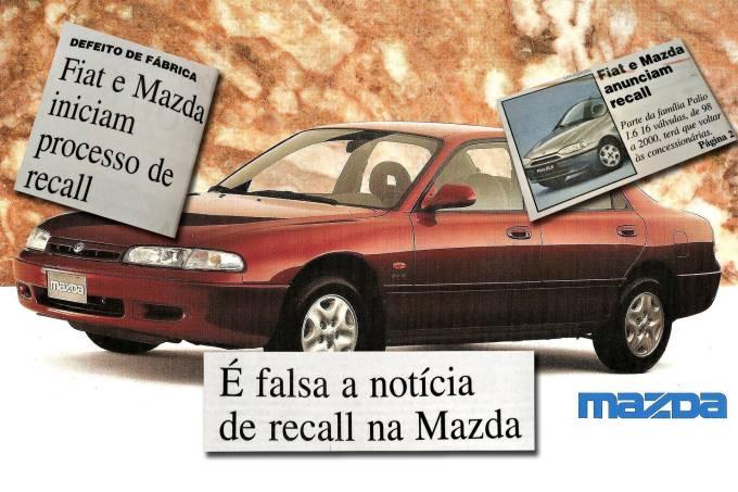 Falso recall do Mazda 626 no Brasil