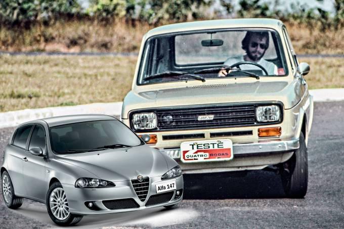 Fiat 147 L, modelo 1977.