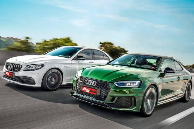 Mercedes-AMG C 63 S vs. Audi RS 5
