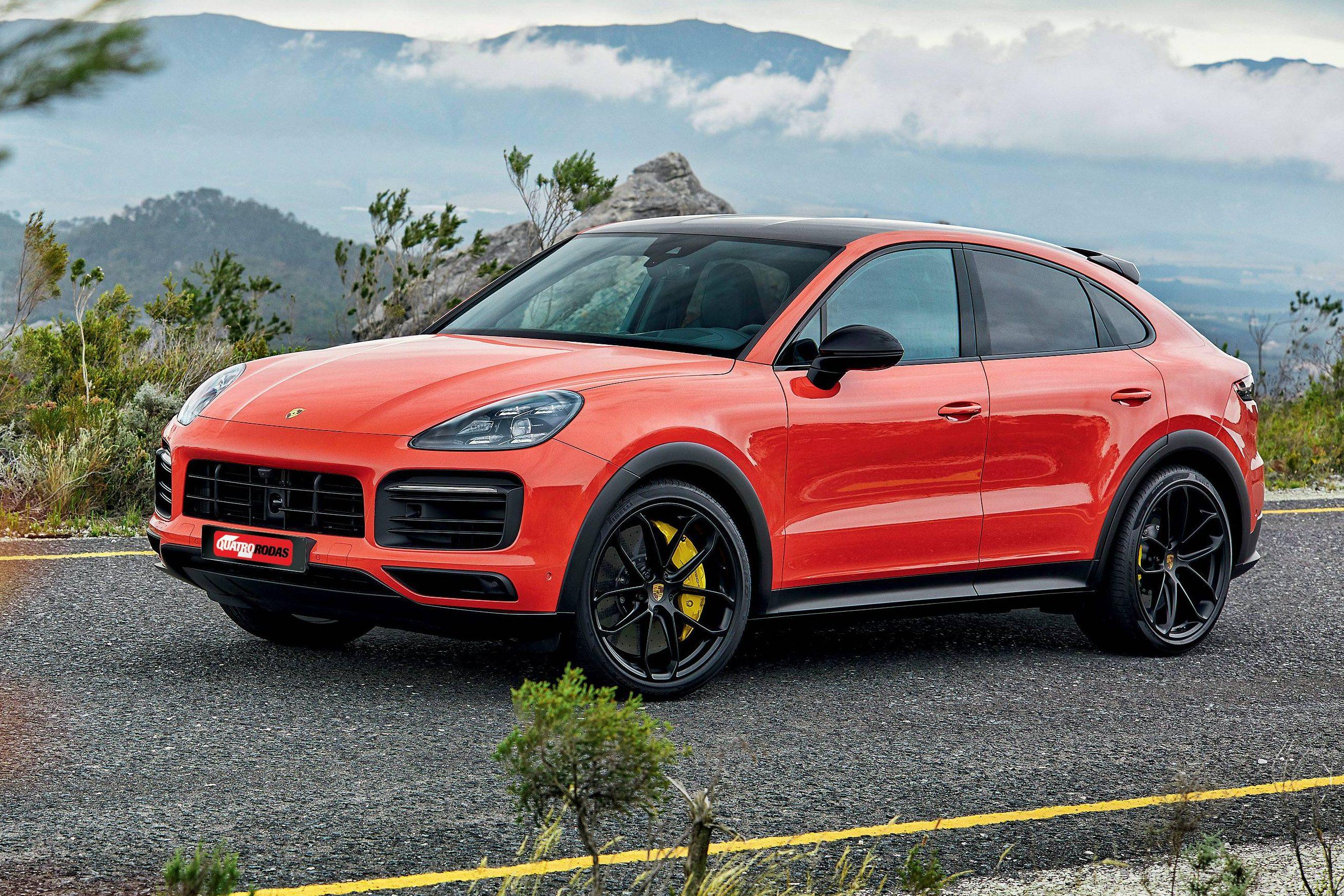Impressoes Porsche Cayenne Coupe E Um Suv Vestindo Roupa De 911 Quatro Rodas