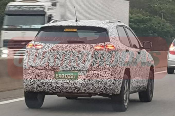 Flagra Chevrolet Tracker