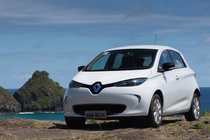 Renault Elétricos Fernando de Noronha