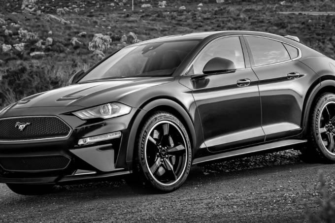 Projeção SUV elétrico do Ford Mustang