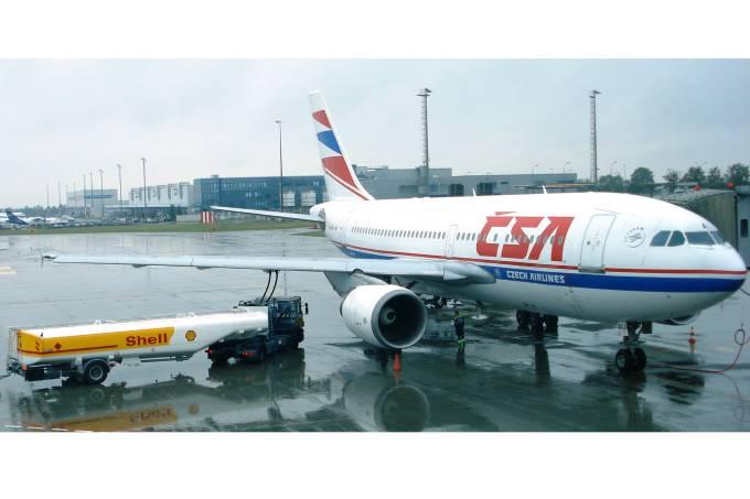 Reabastecimento Avião Shell