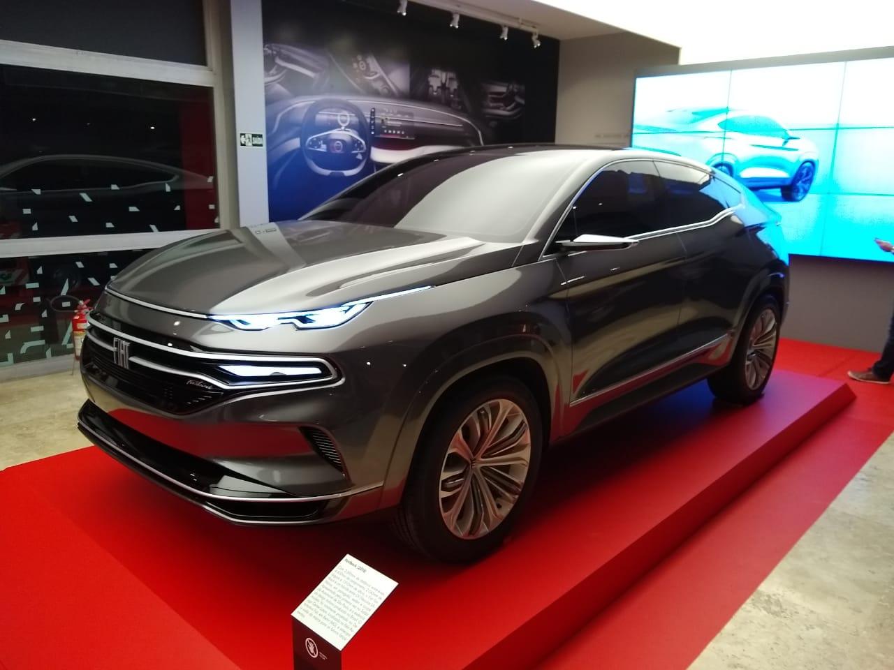 Conceito Fastback, apresentado no Salão de SP, será a inspiração visual de um dos SUVs