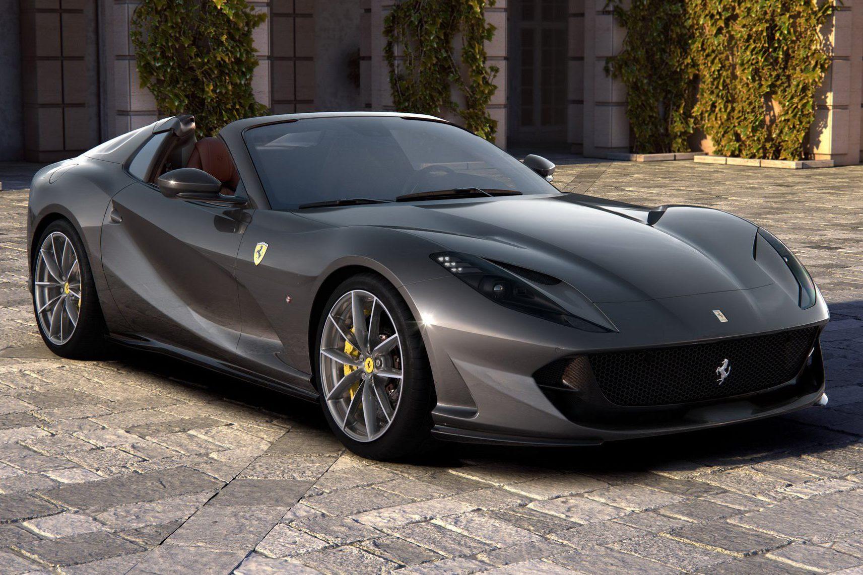 Ferrari 812 Gts Usa V12 Dianteiro Para Ser Conversivel Mais Forte Do Mundo Quatro Rodas