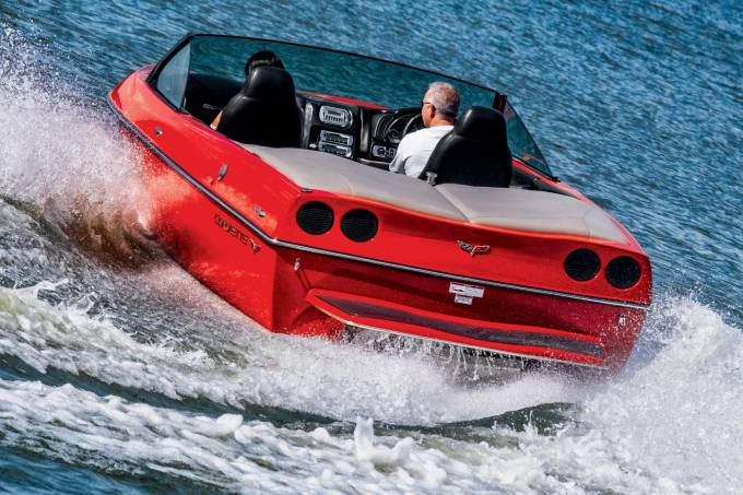 Lancha Corvette