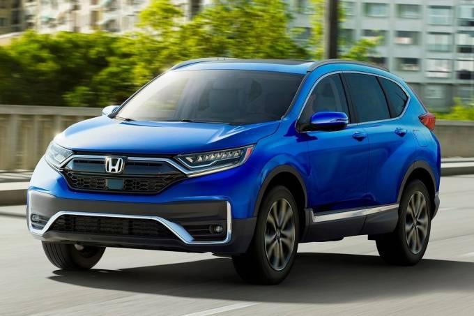 Honda CR-V 2021 Dianteira Movimento