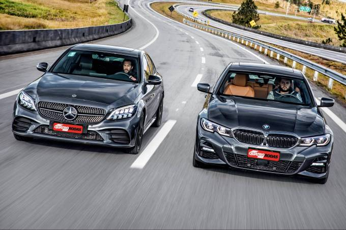 Mercedes-Benz C300 e BMW 330i