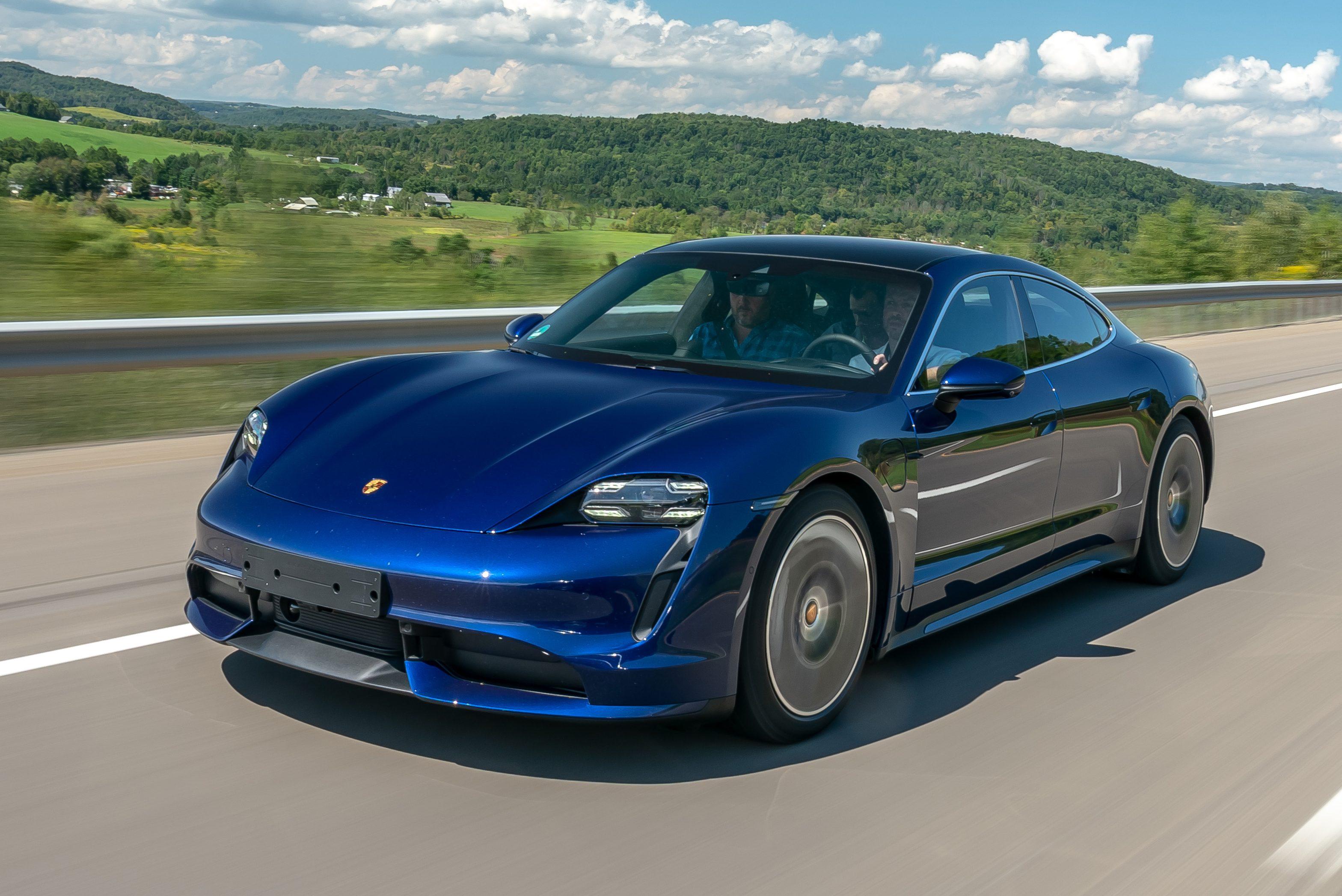 Eletrico Porsche Taycan Cobra Quase R 2 300 Para Ter Ronco De Esportivo Quatro Rodas