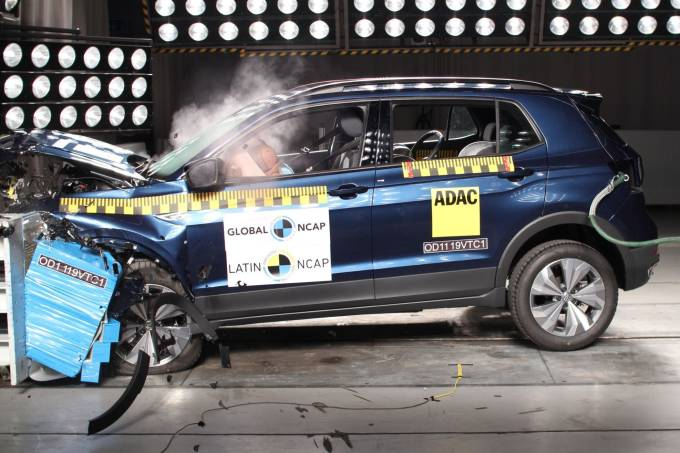 Volkswagen T-Cross Latin NCAP