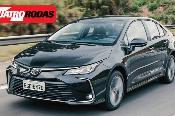 Novo Toyota Corolla vídeo