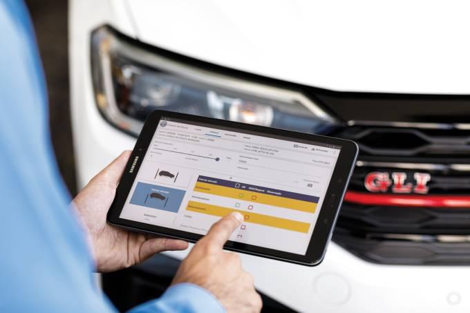 Volkswagen Tablet Pós-Venda