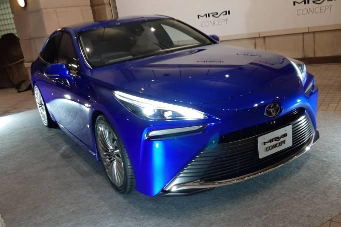 Novo Toyota Mirai Concept