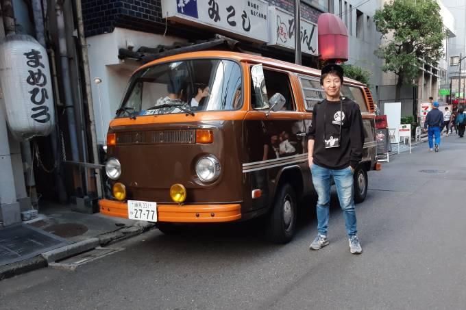 VW Kombi Japão