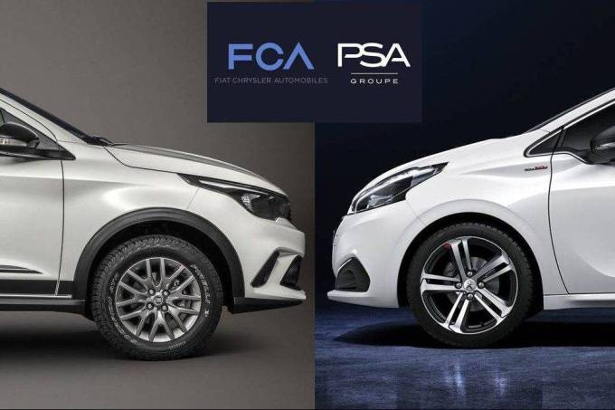FCA e PSA fusão