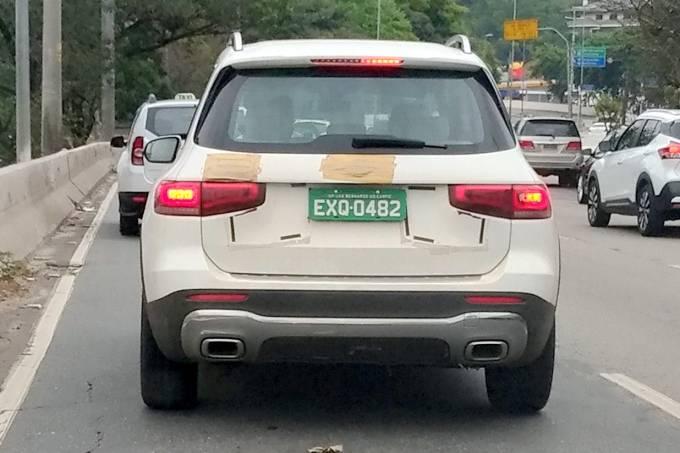Flagra Mercedes GLB Brasil (4)