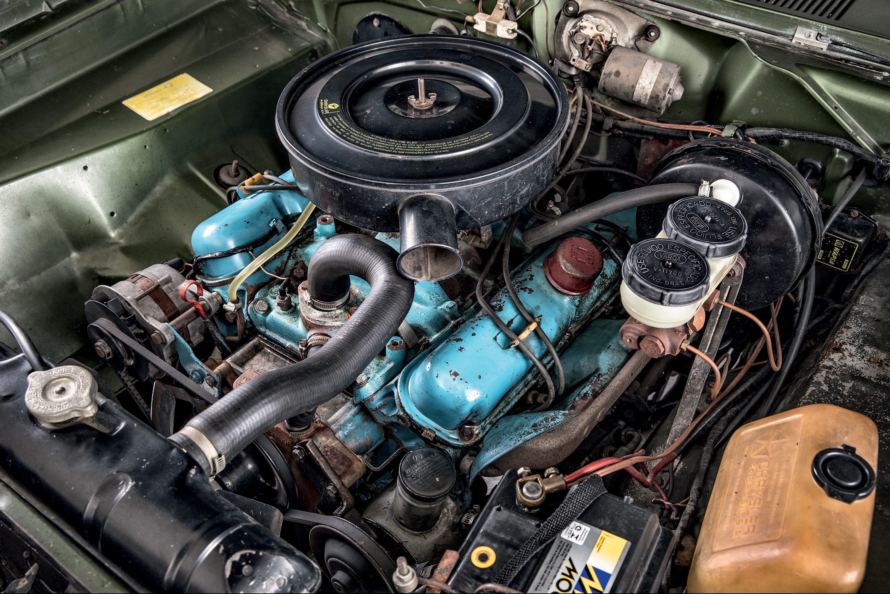 O V8 de 5,2 litros ainda é o maior feito no Brasil