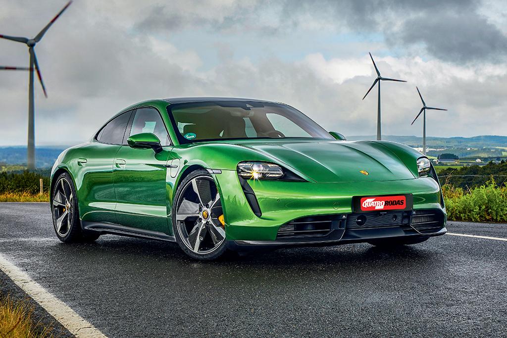 Porsche Taycan Entra Em Pre Venda No Brasil E E Mais Barato Do Que Parece Quatro Rodas