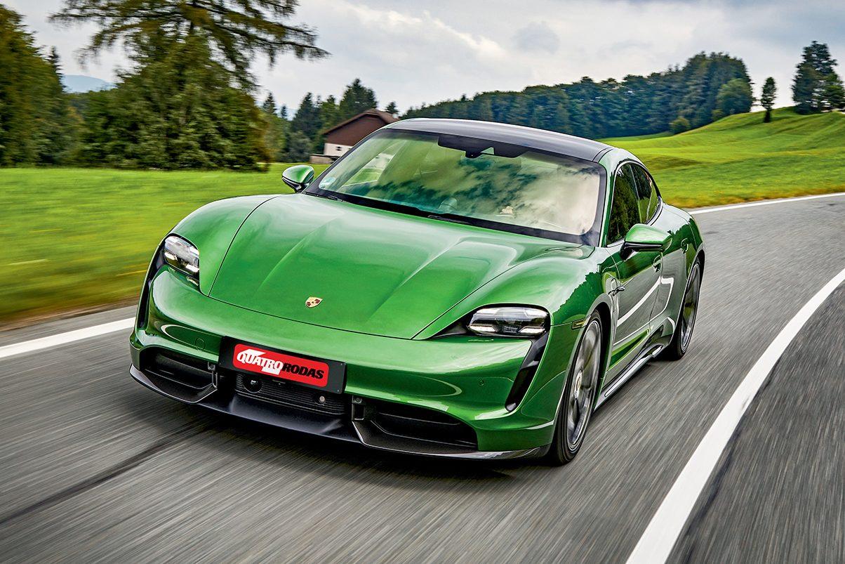 O elétrico Taycan é o modelo mais vendido da Porsche na Europa