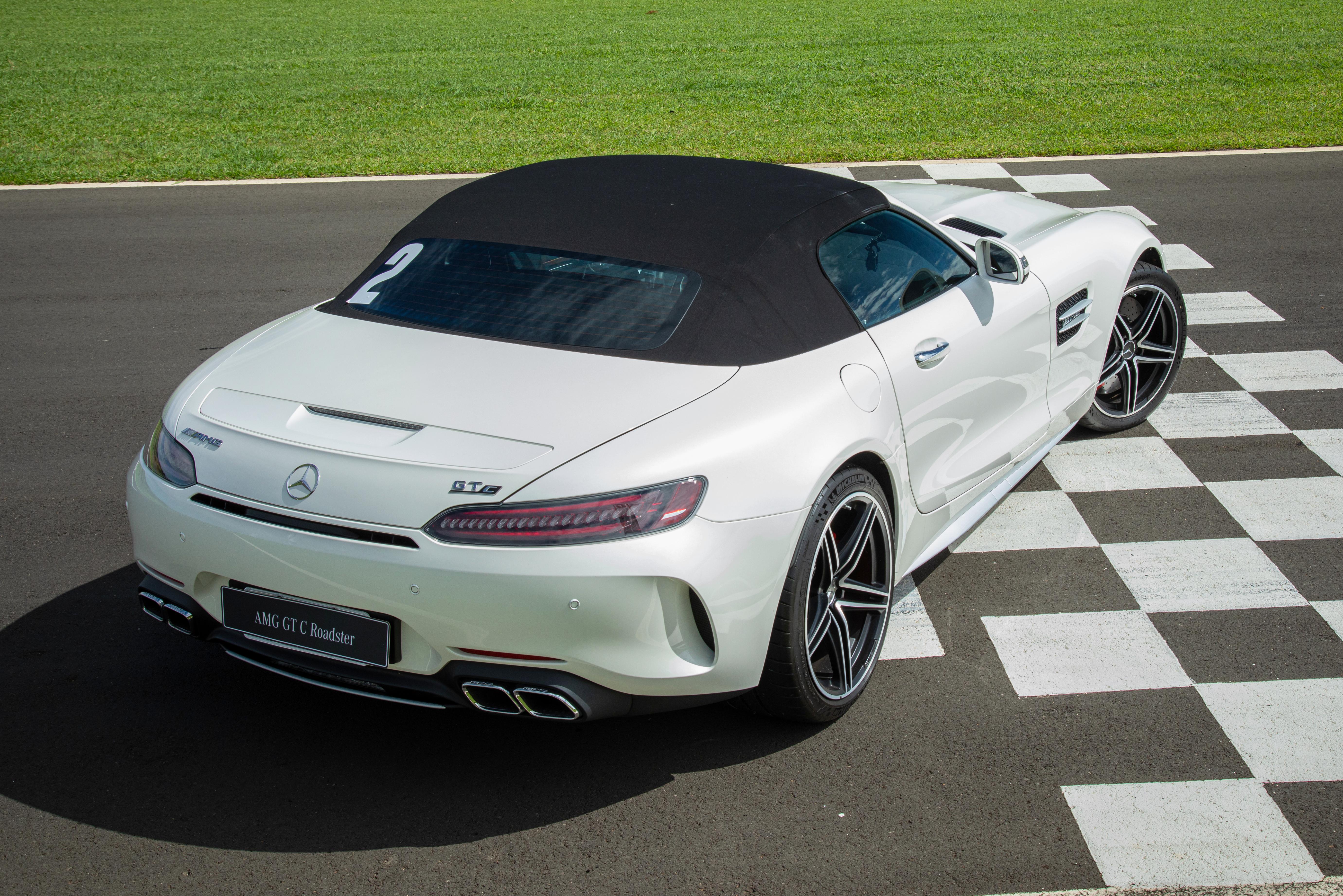 Amg Gt C Roadster E Para Andar Rapido De Cabelo Ao Vento A R 1 2 Milhao Quatro Rodas