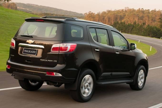 Chevrolet Trailblazer LTZ com motor de 3.6 litros a gasolina