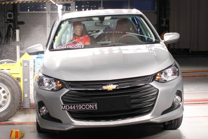 Chevrolet Onix Hatch Latin NCAP