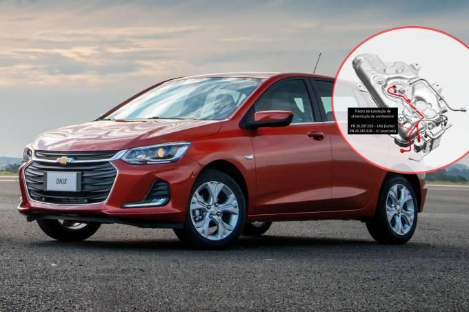 Novo Chevrolet Onix – tanque de combustível