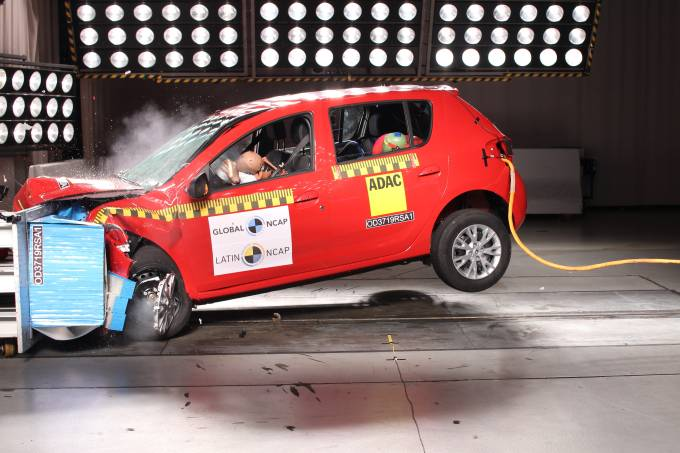 Renault Sandero Latin NCAP