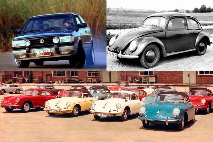 VW GTI, Fusca e Porsche 356