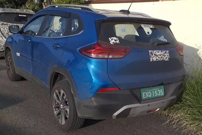 Novo Chevrolet Tracker flagra
