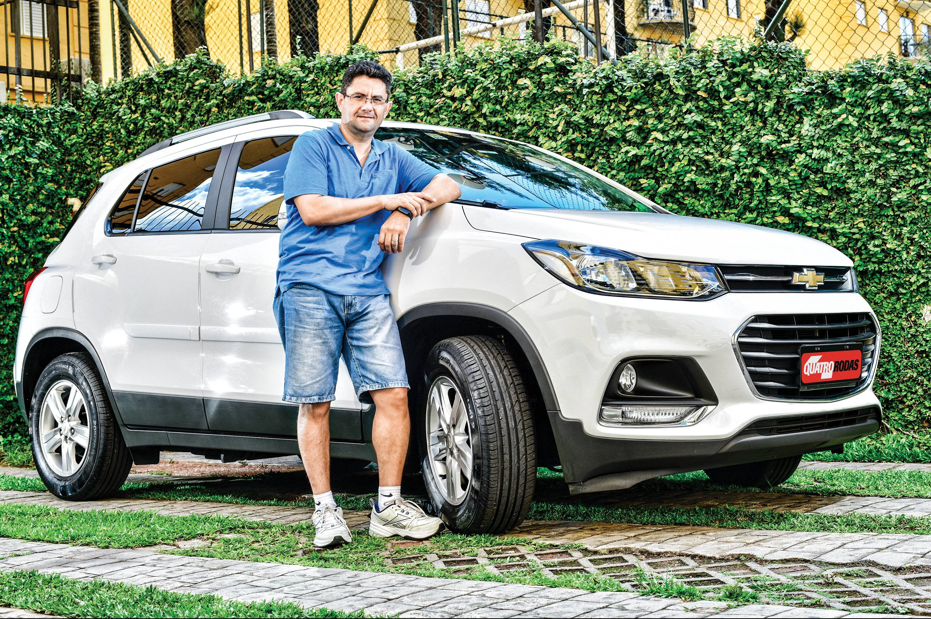 Autodefesa Pneus Do Chevrolet Tracker Se Deterioram Antes Dos