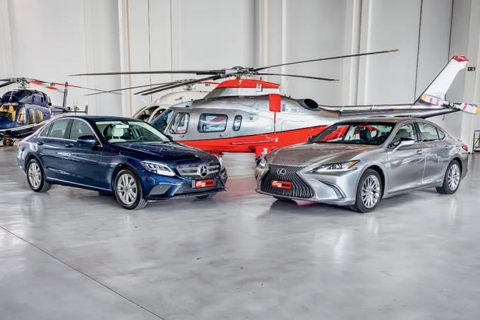 Comparativo Lexus ES 300h x Mercedes-Benz C 200 EQ Boost